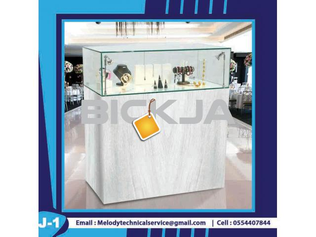Display Stand Dubai | Wooden Display Stand | Jewelry Showcase - 3/4