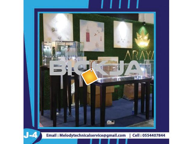 Display Stand Dubai | Wooden Display Stand | Jewelry Showcase - 4/4