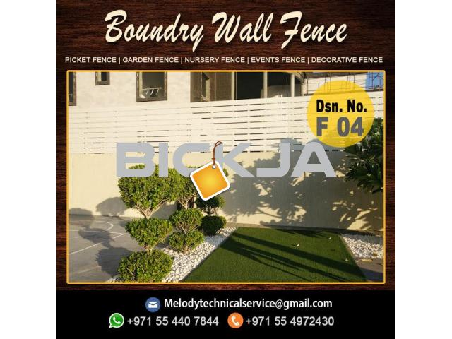 Wooden Fence Dubai | Picket Fence In UAE | Garden Fence In Jumeirah - 4/4