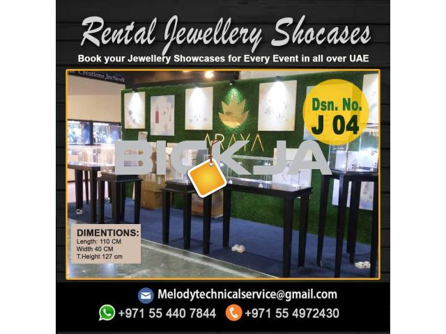 Wooden Display Stand Dubai | Jewelry Events Display Stand Dubai - 4/4