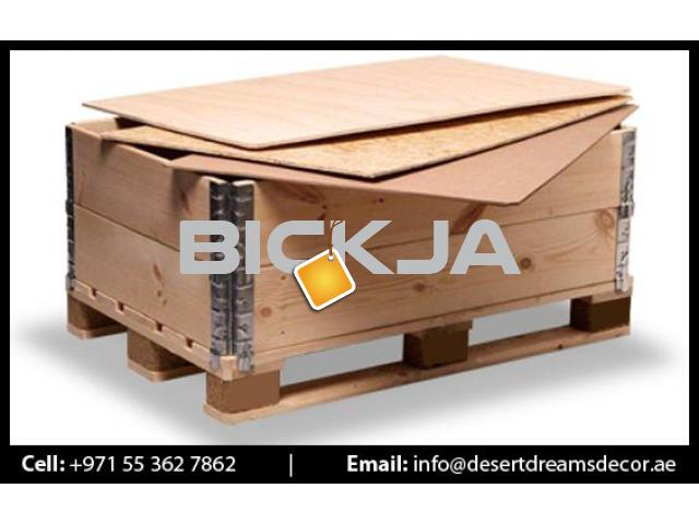 Wooden Pallet Supplier in UAE | Euro Pallets | Wooden Packing Cases in UAE. - 1/4