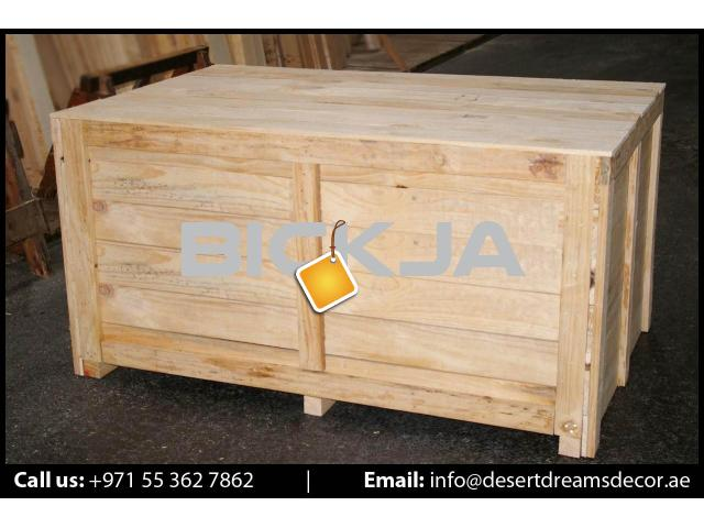 Wooden Pallet Supplier in UAE | Euro Pallets | Wooden Packing Cases in UAE. - 2/4