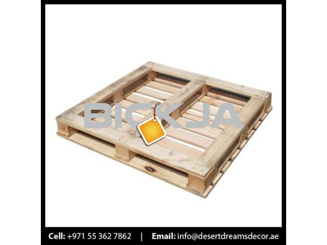 Wooden Pallet Supplier in UAE | Euro Pallets | Wooden Packing Cases in UAE. - 3/4