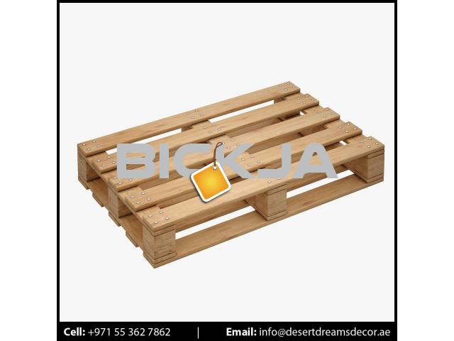 Wooden Pallet Supplier in UAE | Euro Pallets | Wooden Packing Cases in UAE. - 4/4