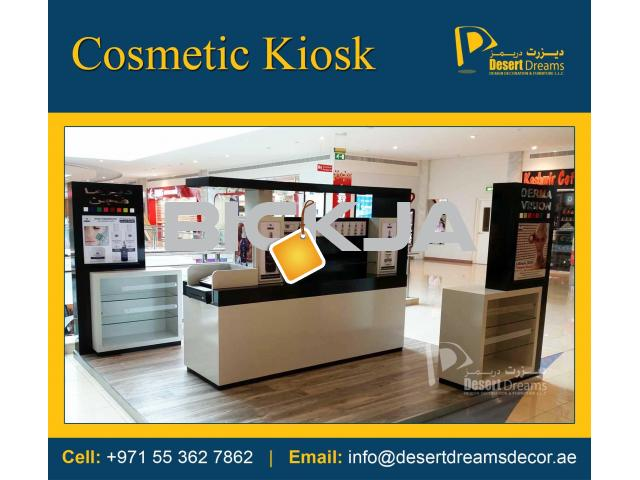 Mall Kiosk and Mall Display Stands Manufacturing in UAE. - 1/4
