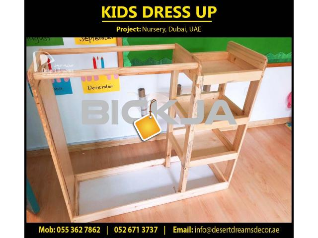 Kids Class Room Furniture Supplier in Uae | Wooden Chairs | Wooden Play House | Wooden Fences Dubai. - 3/4