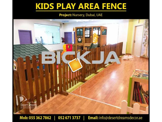Kids Classroom Furniture Supplier in UAE | Nursery Wooden Fence | Kids Play Wooden House Uae. - 2/4