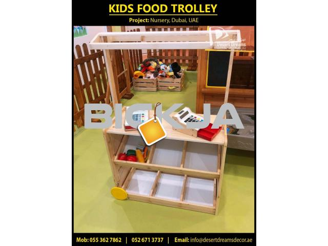 Kids Classroom Furniture Supplier in UAE | Nursery Wooden Fence | Kids Play Wooden House Uae. - 3/4