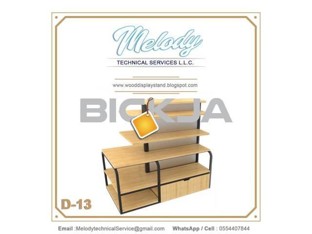 Wooden Display Stand Suppliers| Jewelry Events Display Stand Dubai  - 2/3