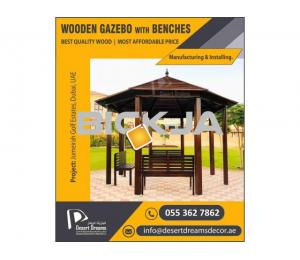 Wooden Gazebo Dubai | Manufacture and Installing Wooden Gazebos in UAE.