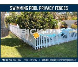 Wooden Fencing Works in UAE.