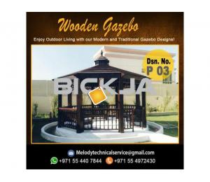 Gazebo Manufacturer In Dubai | Wooden Gazebo Suppliers | Gazebo UAE
