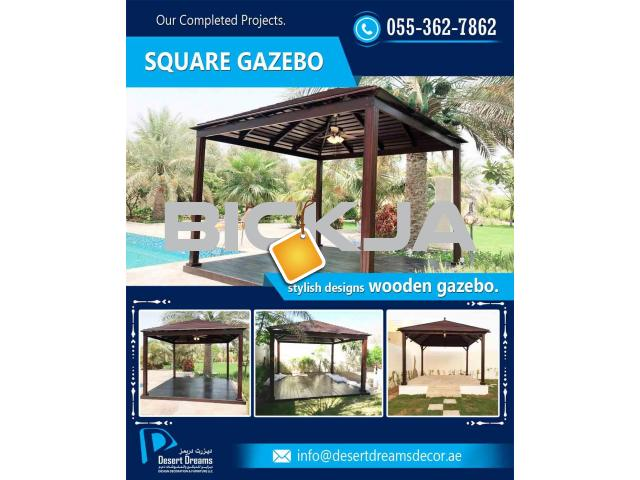 Square Shape Gazebo | Rectangular Shape Gazebo | Octagon and Hexagon Gazebo in UAE. - 2/2