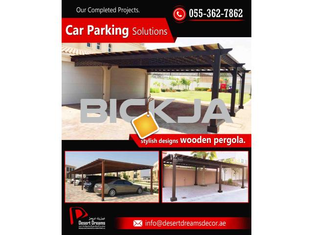 Car Parking Solutions in Dubai and Abu Dhabi | Car Parking Pergola in UAE. - 2/4