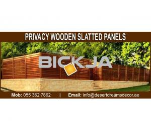 Wooden Slatted Panels in Dubai and Abu Dhabi.