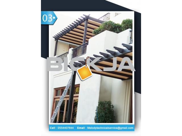 Pergola Suppliers UAE | Pergola in Dubai | Wooden Pergola UAE - 3/4