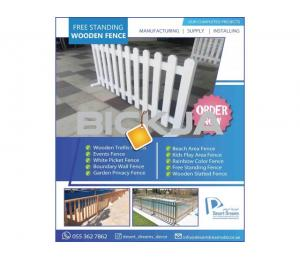 Events Fences Dubai | Wooden Privacy Fences Dubai | Free Standing Fences Uae.