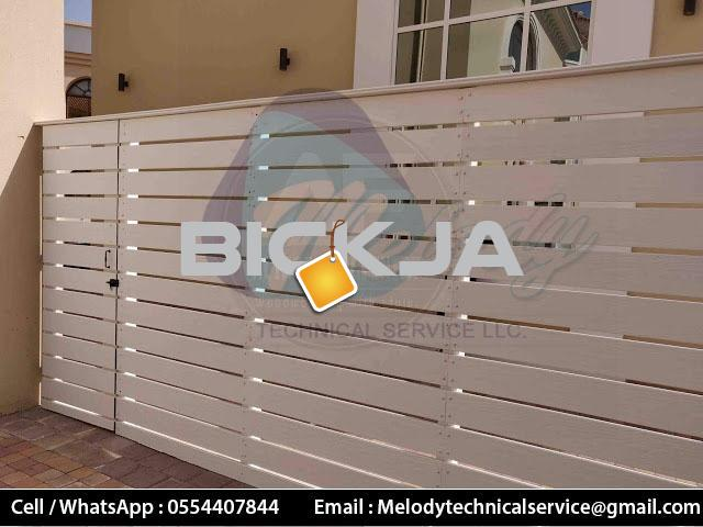 Wooden Fence Dubai Meadows | Garden Fence in The Springs | Fence In Al Furjan - 1/4