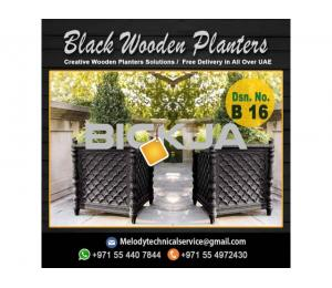 Garden Planters Box Suppliers | Wooden Planters in Dubai | Outdoor Planters