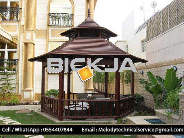 Gazebo Suppliers UAE | Gazebo in Dubai | Wooden Gazebo UAE - 1/4