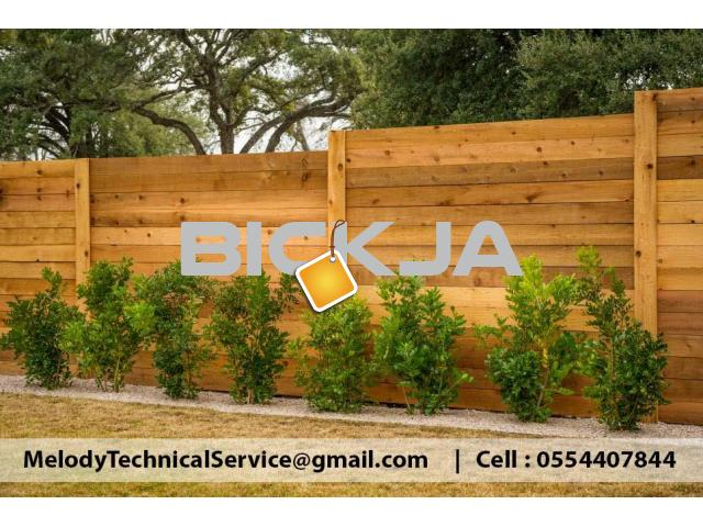 Wall Privacy Fence Dubai | kids Privacy Fence | Wooden Fence Suppliers UAE - 1/4