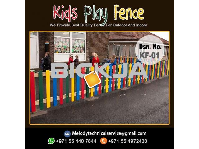 Garden Fence in Al Barsha | Wooden Fence in Dubai | Picket Febce Emirates Hills - 1/4