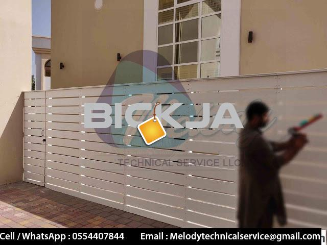 Garden Fence in Al Barsha | Wooden Fence in Dubai | Picket Febce Emirates Hills - 2/4