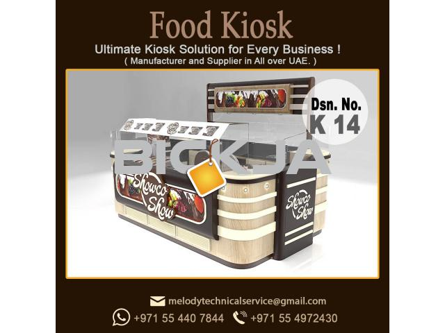 Candy kiosk Design Dubai | Mall Kiosk Design Dubai | Wooden kiosk - 1/2