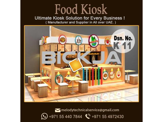 Candy kiosk Design Dubai | Mall Kiosk Design Dubai | Wooden kiosk - 2/2