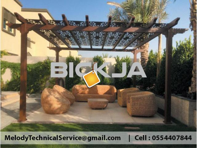 Garden Pergola in Jumeirah | Pergola Suppliers in Dubai | Pergola Design UAE - 1/3