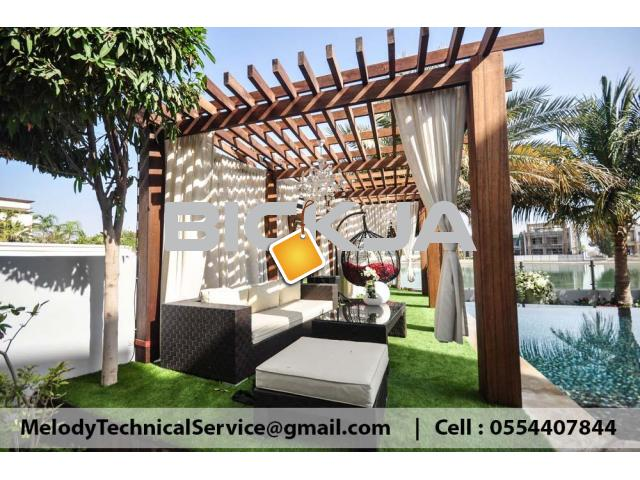Garden Pergola in Jumeirah | Pergola Suppliers in Dubai | Pergola Design UAE - 2/3