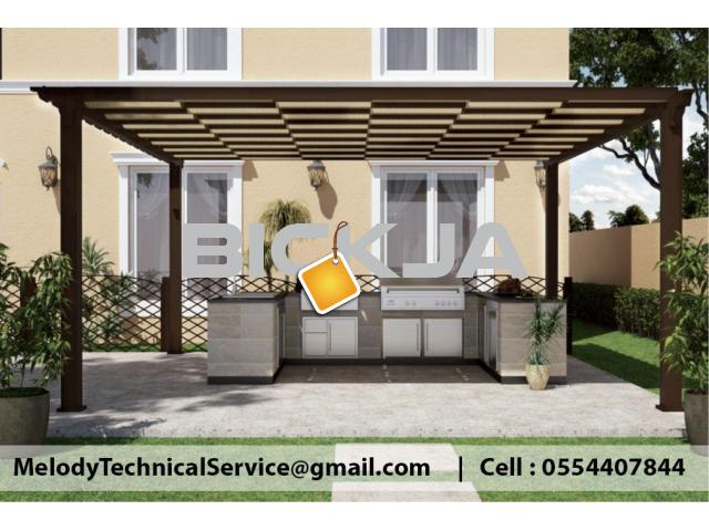 Garden Pergola in Jumeirah | Pergola Suppliers in Dubai | Pergola Design UAE - 3/3