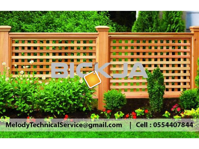 Wooden Fence Dubai Meadows | Garden Fence in The Springs | Fence In Al Furjan - 4/4