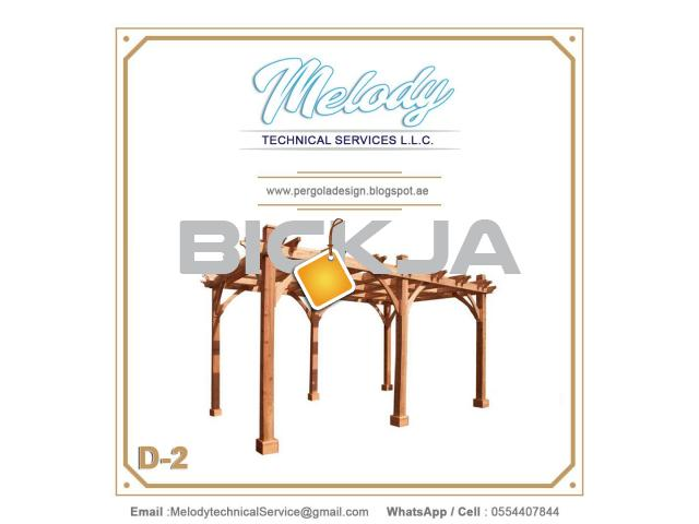 Pergola Suppliers UAE | Pergola in Dubai | Wooden Pergola UAE - 1/3