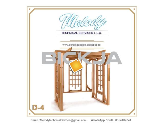 Pergola Suppliers UAE | Pergola in Dubai | Wooden Pergola UAE - 3/3