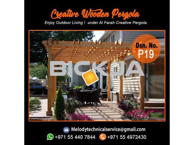 pergola Manufacturer In Dubai | Wooden Pergola Suppliers | Pergola UAE - 2/4
