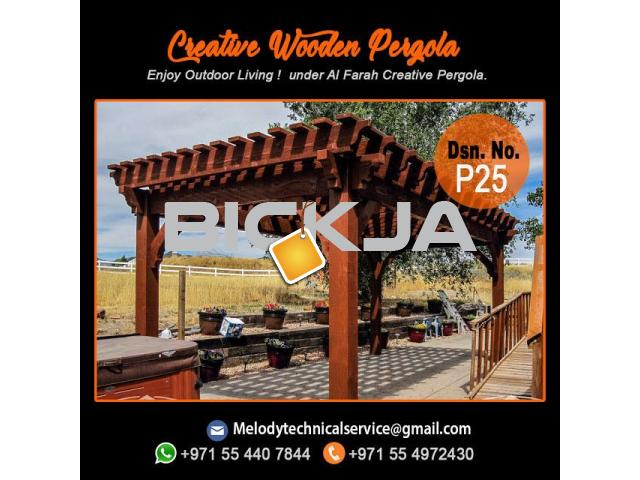 pergola Manufacturer In Dubai | Wooden Pergola Suppliers | Pergola UAE - 3/4