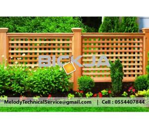 Composite Fence In Dubai  Garden Fence Palm Jumeirah | Wooden Fence in Dubai