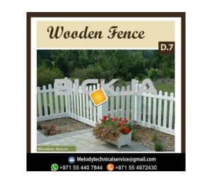 Wooden Fence Suppliers in Dubai | Garden Fence | Dubai Villa Fence
