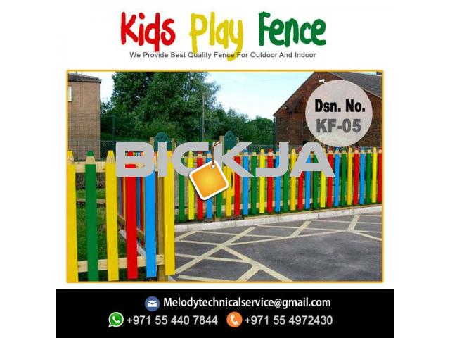 Garden Fence in Al Barsha | Wooden Fence in Dubai | Picket Fence Emirates Hills - 4/4