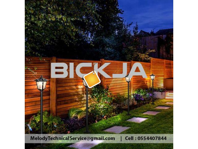Wooden Fence Dubai Meadows | Garden Fence in The Springs | Fence In Al Furjan - 2/2