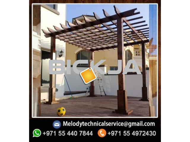 pergola Manufacturer In Dubai | Wooden Pergola Suppliers | Pergola UAE - 1/4