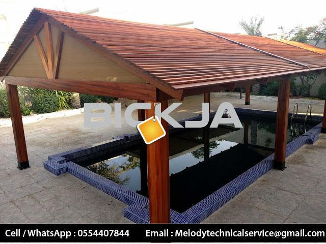 Gazebo Manufacturer In Dubai | Wooden Gazebo Suppliers | Gazebo UAE - 3/4