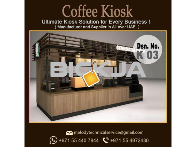 Dubai Mall Kiosk Design | Wooden Kiosk Dubai | Kiosk Suppliers - 4/4