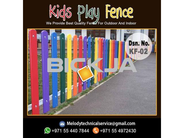 Kids Play Fence Dubai | Kids Privacy Fence | Dubai School Fence - 3/4