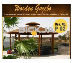 Gazebo in Jumeirah Golf Estates | Wooden Gazebo | Gazebo in Victory Heights, Dubai