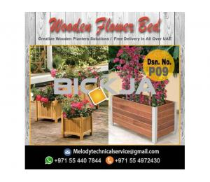Wooden Planters Box | Garden Planters Dubai | Planters Box Suppliers