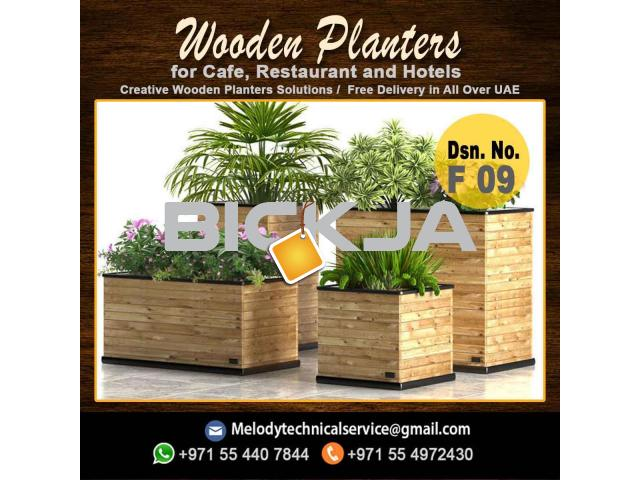 Wooden Planters Box | Garden Planters Dubai | Planters Box Suppliers - 2/4