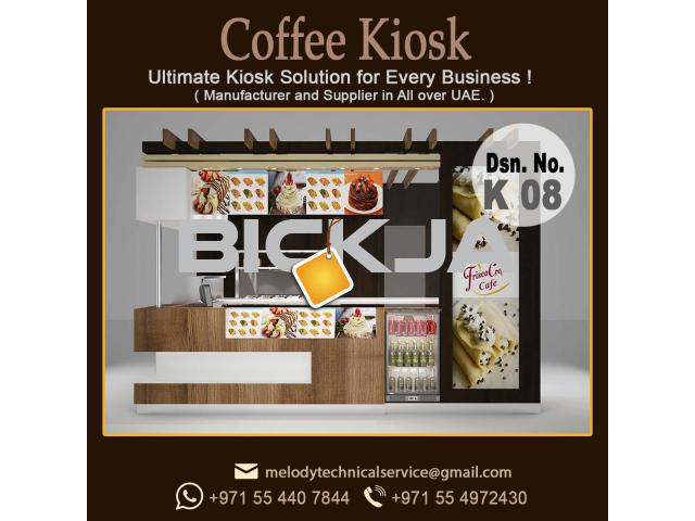 Candy kiosk Design Dubai | Mall Kiosk Design Dubai | Wooden kiosk - 2/3