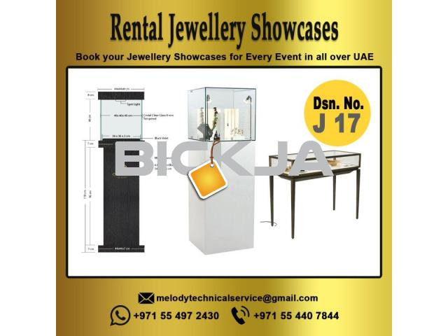 Jewellery Display in Dubai | Wooden Display | Events Display Suppliers | Rental Display in UAE - 1/4